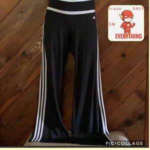 Adidas Ladies 3 stripes Black climate Joggers